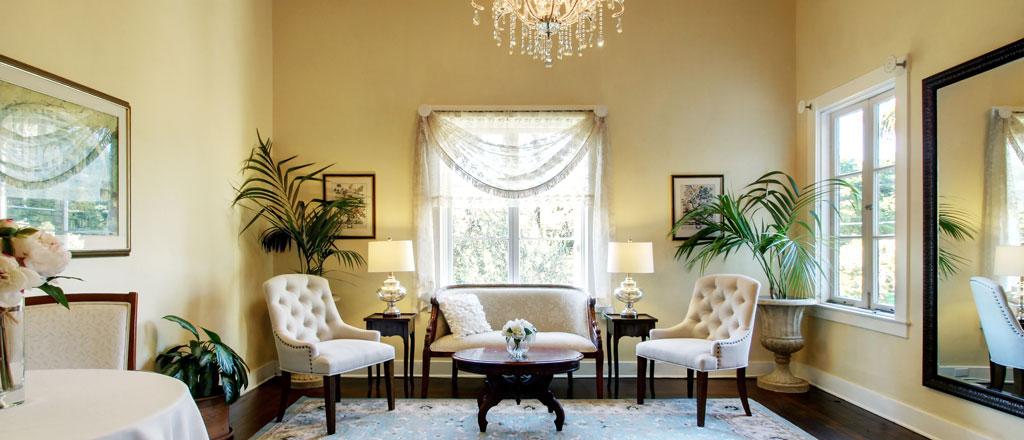 Bride's Suite | Riviera Mansion Wedding