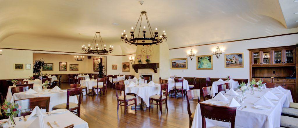 Dining Room Riviera Mansion Wedding